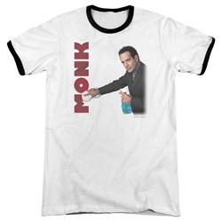 Monk - Mens Clean Up Ringer T-Shirt