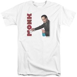 Monk - Mens Clean Up Tall T-Shirt