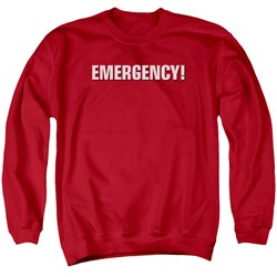 Emergency - Mens Logo Sweater