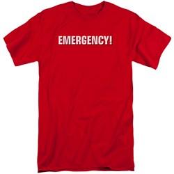 Emergency - Mens Logo Tall T-Shirt