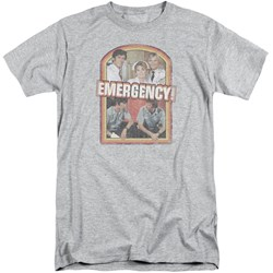 Emergency - Mens Retro Cast Tall T-Shirt