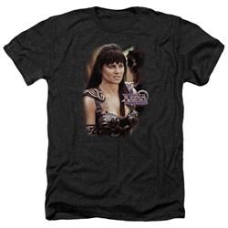 Xena - Mens Warrior Princess Heather T-Shirt