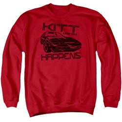 Knight Rider - Mens Kitt Happens Sweater