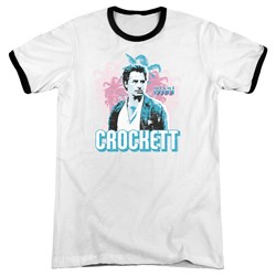 Miami Vice - Mens Crockett Ringer T-Shirt