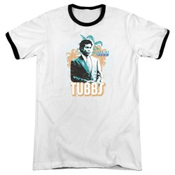 Miami Vice - Mens Tubbs Ringer T-Shirt