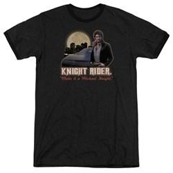 Knight Rider - Mens Full Moon Ringer T-Shirt