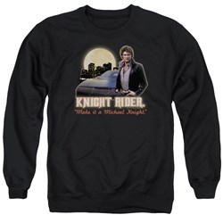 Knight Rider - Mens Full Moon Sweater