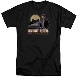 Knight Rider - Mens Full Moon Tall T-Shirt