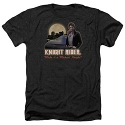 Knight Rider - Mens Full Moon Heather T-Shirt