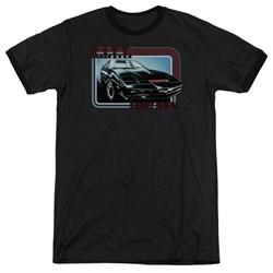 Knight Rider - Mens Kitt Ringer T-Shirt