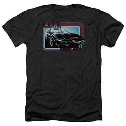 Knight Rider - Mens Kitt Heather T-Shirt