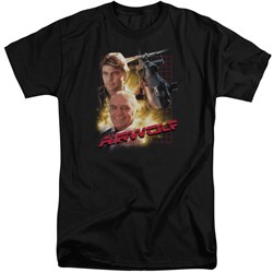 Airwolf - Mens Airwolf Tall T-Shirt