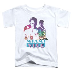 Miami Vice - Toddlers Crockett And Tubbs T-Shirt