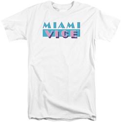Miami Vice - Mens Logo Tall T-Shirt