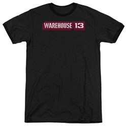 Warehouse 13 - Mens Logo Ringer T-Shirt
