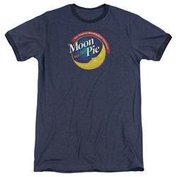 Moon Pie - Mens Current Logo Ringer T-Shirt