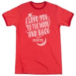 Moon Pie - Mens I Love You Ringer T-Shirt