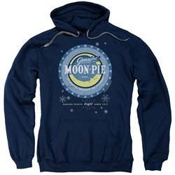 Moon Pie - Mens Snowing Moon Pies Pullover Hoodie