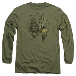 Mirrormask - Mens Don'T Let Them Long Sleeve T-Shirt