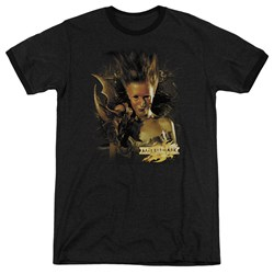 Mirrormask - Mens Queen Of Shadows Ringer T-Shirt