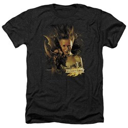 Mirrormask - Mens Queen Of Shadows Heather T-Shirt