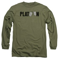 Platoon - Mens Logo Long Sleeve T-Shirt