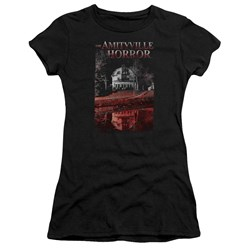 Amityville Horror - Juniors Cold Blood T-Shirt