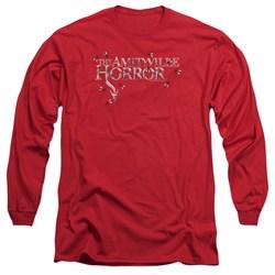 Amityville Horror - Mens Flies Long Sleeve T-Shirt