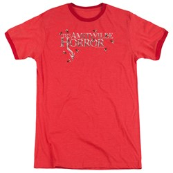 Amityville Horror - Mens Flies Ringer T-Shirt