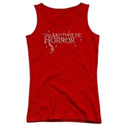 Amityville Horror - Juniors Flies Tank Top