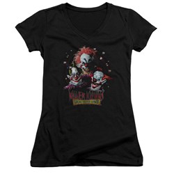 Killer Klowns From Outer Space - Juniors Killer Klowns V-Neck T-Shirt