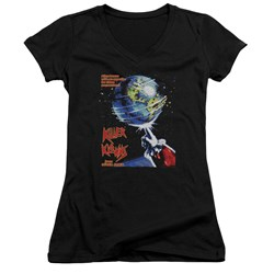 Killer Klowns From Outer Space - Juniors Invaders V-Neck T-Shirt