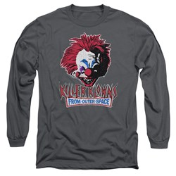 Killer Klowns From Outer Space - Mens Rough Clown Long Sleeve T-Shirt