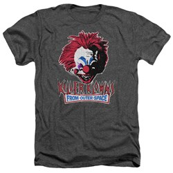 Killer Klowns From Outer Space - Mens Rough Clown Heather T-Shirt