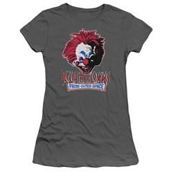 Killer Klowns From Outer Space - Juniors Rough Clown T-Shirt