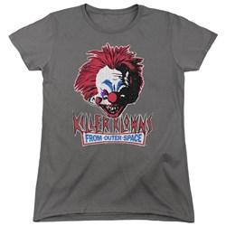 Killer Klowns From Outer Space - Womens Rough Clown T-Shirt