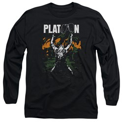 Platoon - Mens Graphic Long Sleeve T-Shirt