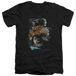 Army Of Darkness - Mens Covered V-Neck T-Shirt