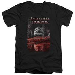 Amityville Horror - Mens Cold Blood V-Neck T-Shirt