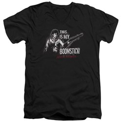 Army Of Darkness - Mens Boomstick V-Neck T-Shirt