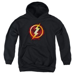 Justice League - Youth Flash Title Pullover Hoodie