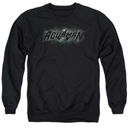 Justice League - Mens Aquaman Title Sweater