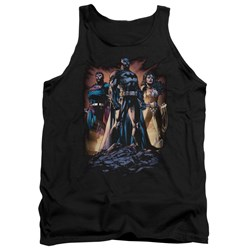 Justice League - Mens Take A Stand Tank Top
