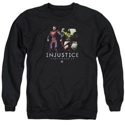 Injustice Gods Among Us - Mens Supermans Revenge Sweater