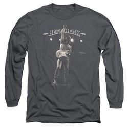 Jeff Beck - Mens Guitar God Long Sleeve T-Shirt
