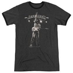 Jeff Beck - Mens Guitar God Ringer T-Shirt