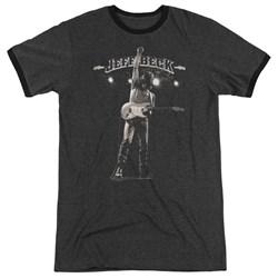 Jeff Beck - Mens Guitar God Ringer T-Shirt