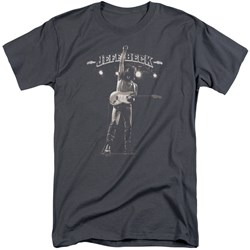 Jeff Beck - Mens Guitar God Tall T-Shirt
