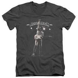 Jeff Beck - Mens Guitar God V-Neck T-Shirt