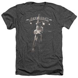 Jeff Beck - Mens Guitar God Heather T-Shirt